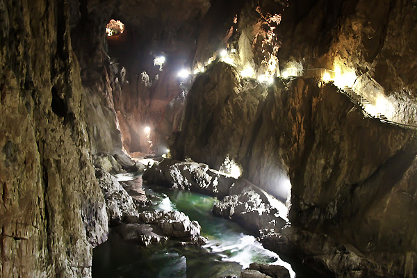 Kocjan Caves Think Slovenia